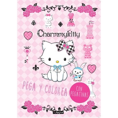 Color And Stick Charmmy Kitty
