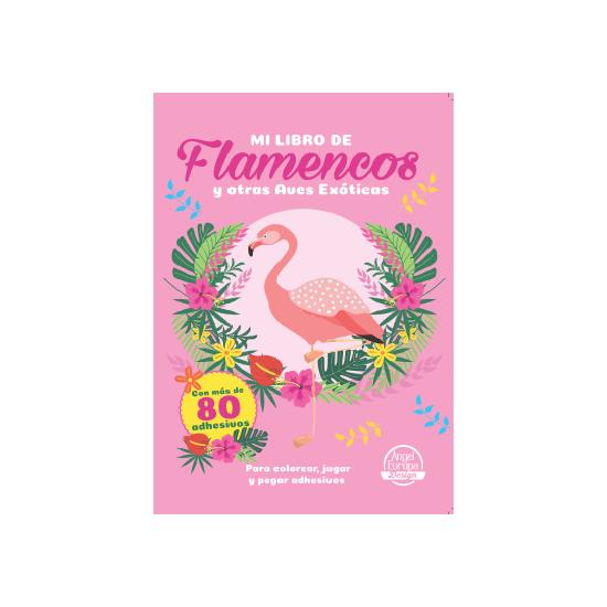 Pack 12 Un Mi Libro De Flamencos Y Otras Aves Exoticas Con