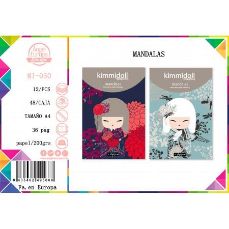 PACK 24 Un. Mandalas Kimidoll