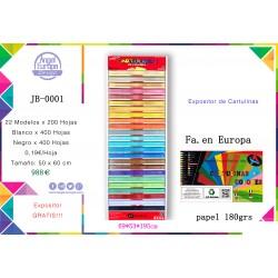 Expositor Cartulinas 50x65
