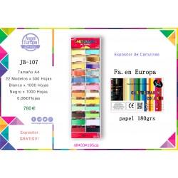 Expositor-JB-107- Cartulinas A4
