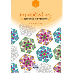 Pack 12 Un. Mandala Geometry 1