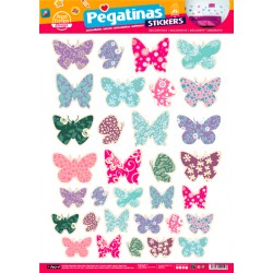 Stickers Mariposas (48x68)
