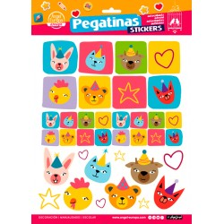 Stickers Animalitos (24x34)