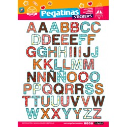 Stickers Letras (24x34)