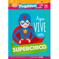 Stickers Super Chico (24x34)