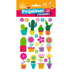 Stickers Flowers (10x19)