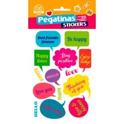 Stickers Llamadas (10x19)