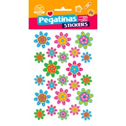Stickers Flores (10x19)
