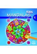 Mandalas kids, Colorear y Soñar  21x21