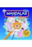 Mandalas Kids, Busca y Colorea 21x21