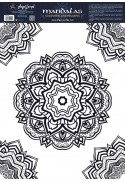 Mandala circles coloring sheets
